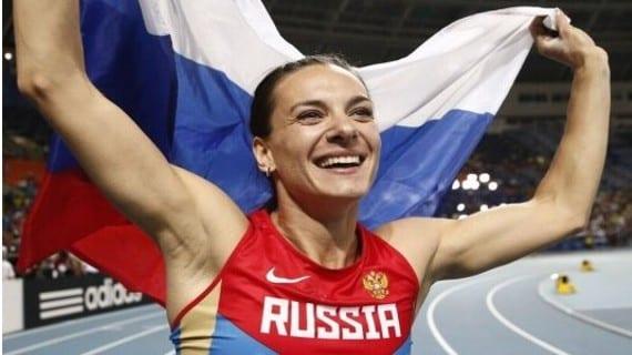 Isinbayeva Rusia