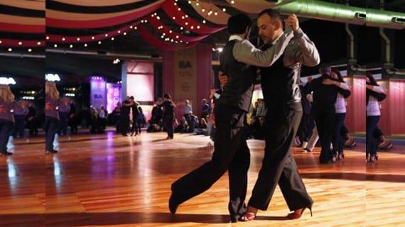 Campeonato tango pareja gay