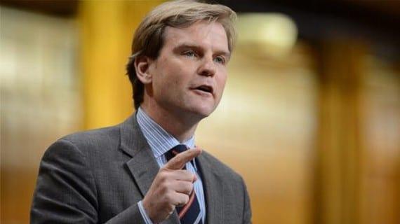 Chris Alexander, ministro de ciudadanía e inmigración de Canadá