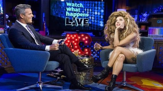 Lady Gaga lesbianas