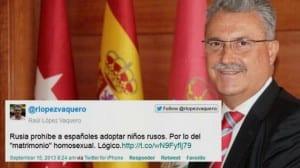 López Vaquero homófobo Coslada