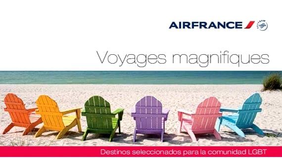 Air France guiías LGBT