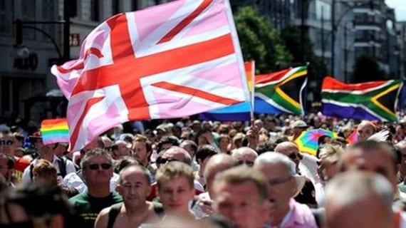Población gay Reino Unido