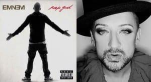 Eminem homofobia Boy George