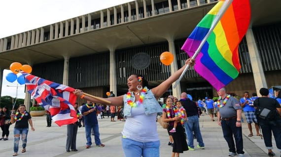 Hawai matrimonio gay