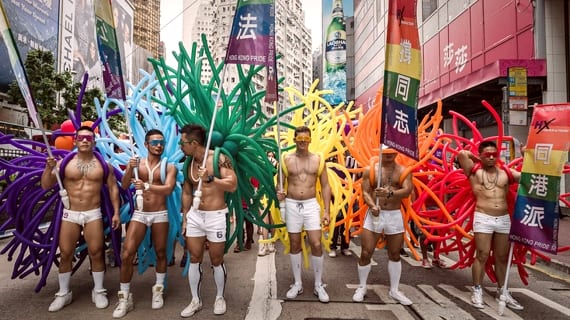 Hong Kong Gay Parade 2013