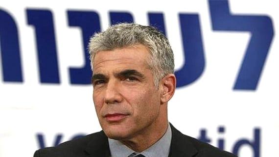 Yair Lapid, lider del partido Yesh Atid