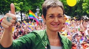 Ulrike Lunacek, eurodiputada austriaca abiertamente homosexual