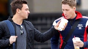 Tom Daley Lance Black