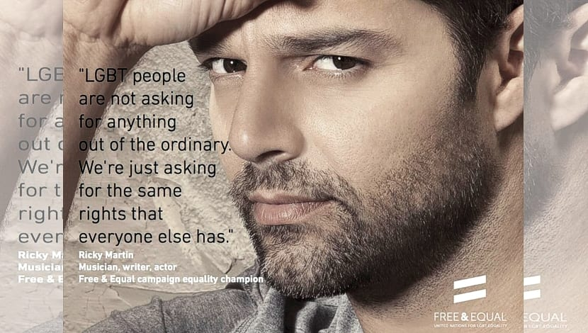 Libres Iguales Ricky Martin
