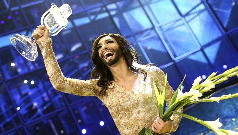 Conchita Wurst Eurovisión 2014