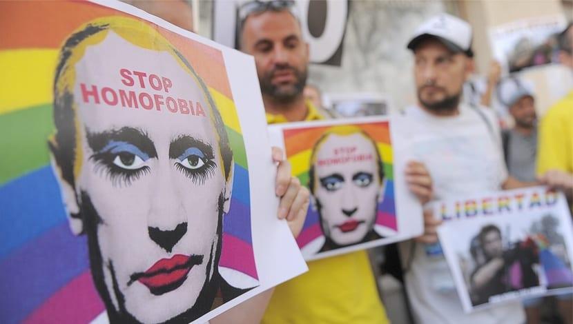 Crimea Rusia ley homófoba