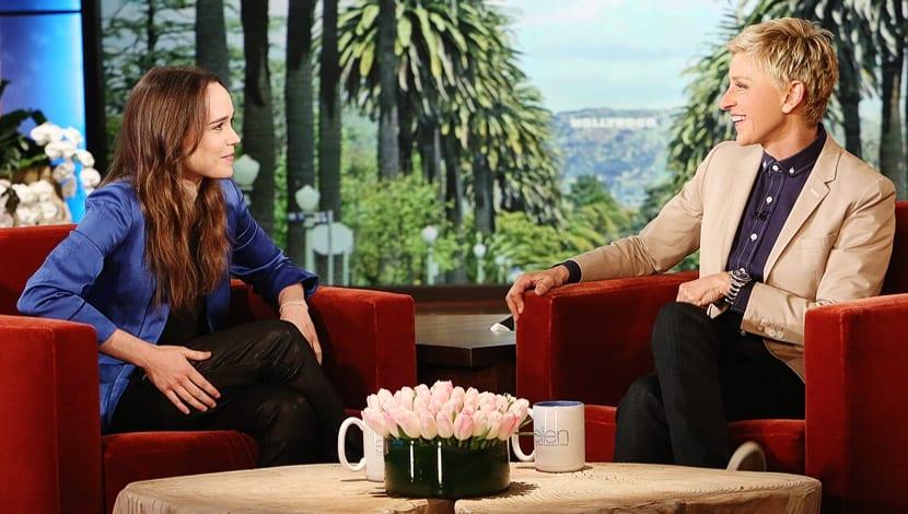 Ellen Page DeGeneres Outing