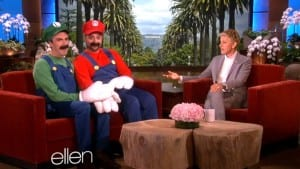 Ellen Super Mario Luigi