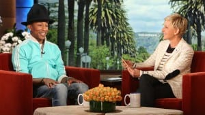 Pharrell Williams Ellen