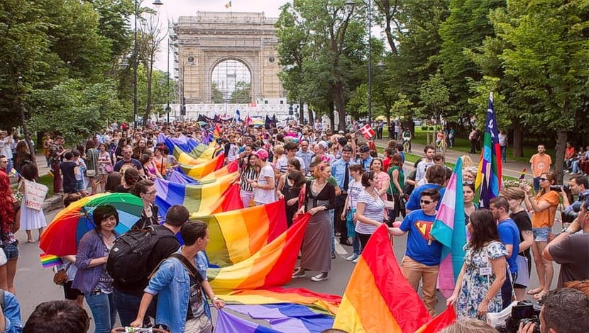 Bucarest Pride 2014 Rumanía