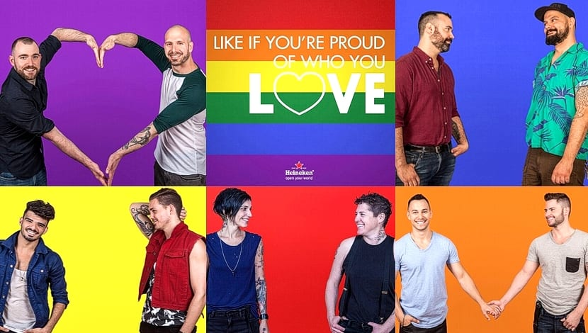 Heineken LGBT proud love