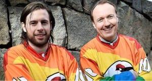 Kiruna arco iris Suecia