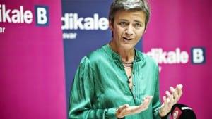 Margrethe Vestager ministra Dinamarca