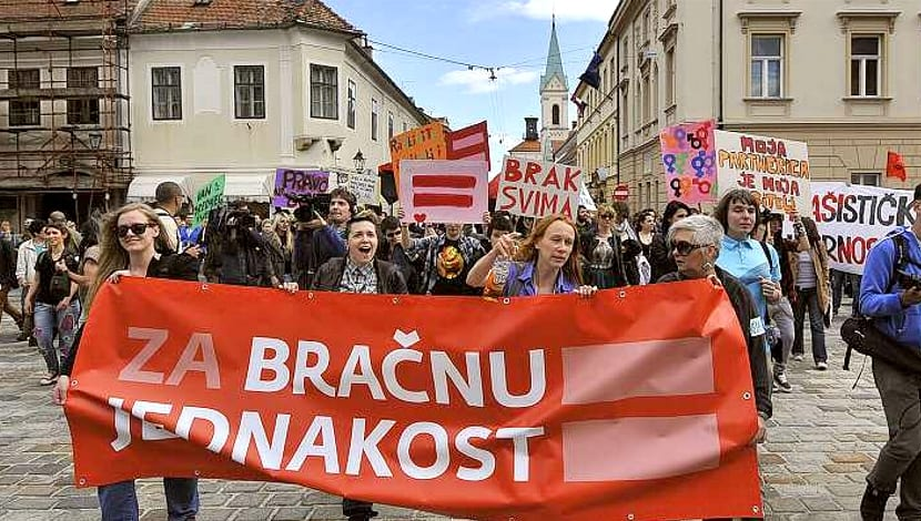 Croacia unión civil LGBT
