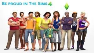 Sims 4 be proud LGBT