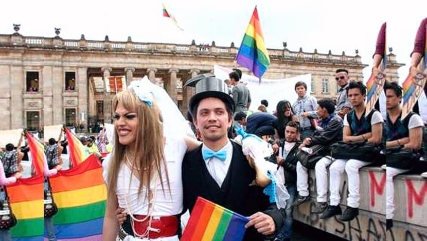 Colombia uniones gays familia