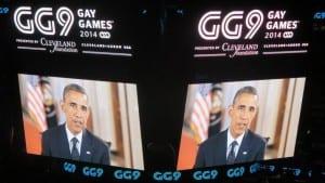 Gay Games Cleveland Obama