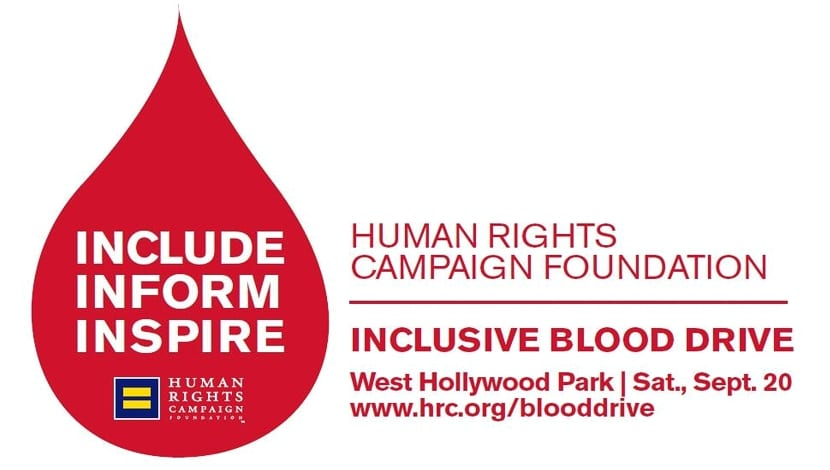 HRC blood drive California