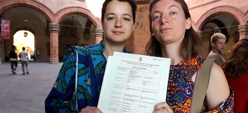Italia matrimonio gay Nápoles