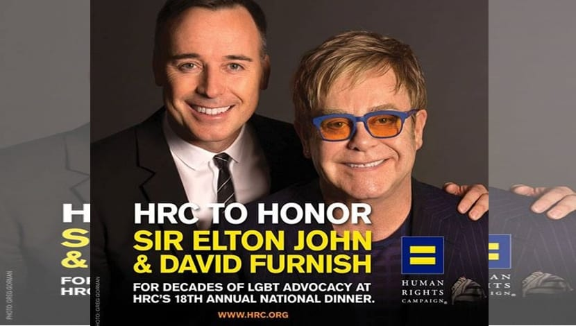 Elton John HRC Washington gala