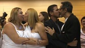 Río boda colectiva