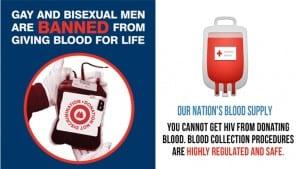 SIDA donación sangre discriminación