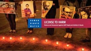 HRW License Harm Rusia
